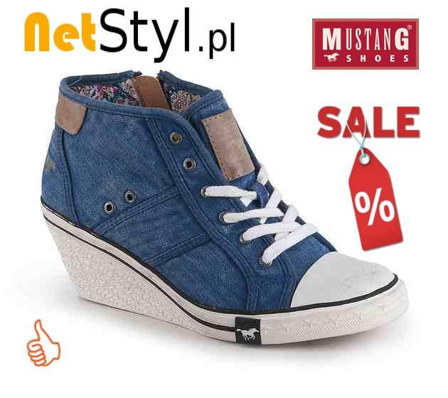 Buty Mustang Shoes 32C024 w NetStyl.pl
