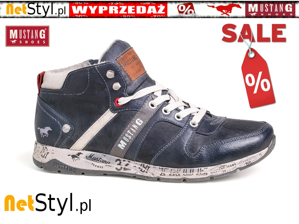 BUTY KOZAKI TRZEWIKI MUSTANG SHOES 39A025 W NetStyl.pl