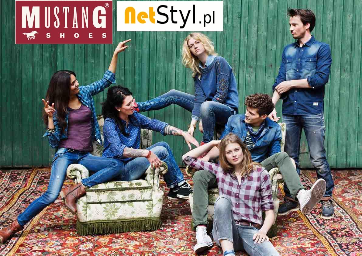 Buty Mustang shoes w NetStyl.pl